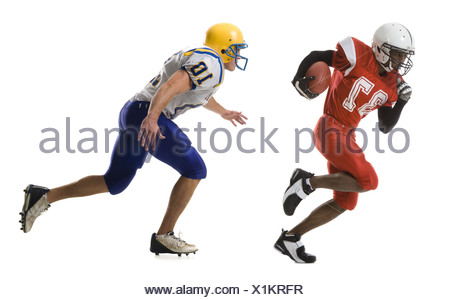 two football players - Stock Photo