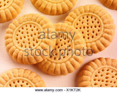 SCOTTISH SHORTBREAD BISCUITS - Stock Photo