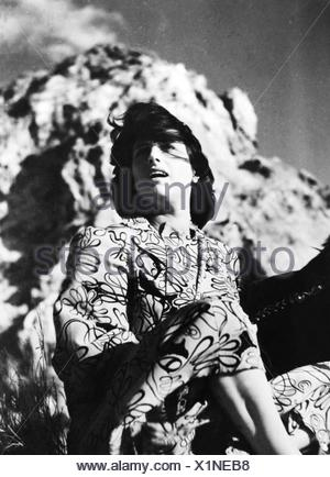 movie, 'Volcano' (Vulcano), ITA 1950, director: William Dieterle, scene with: Anna Magnani, , Third-Party-Permissions-Neccessary - Stock Photo