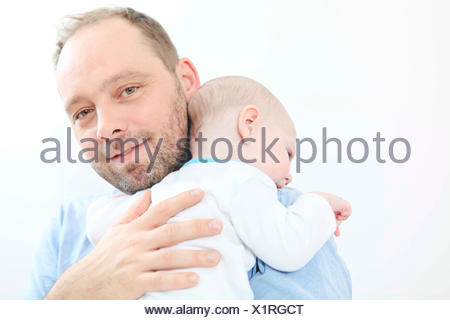 Father with baby boy - Stock Photo