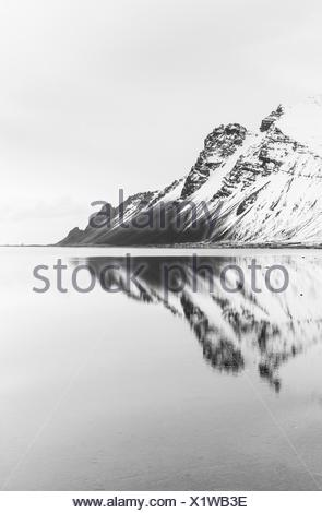 Stokksnes península - Hofn Iceland - Stock Photo