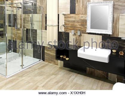 Elegant bathroom - Stock Photo