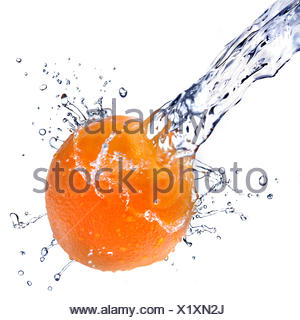 refreshment,orange,jet - Stock Photo