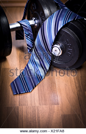 fitness and business - Stock Photo