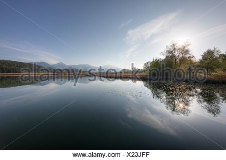 Turnersee lake, Carinthia, Austria, Europe - Stock Photo