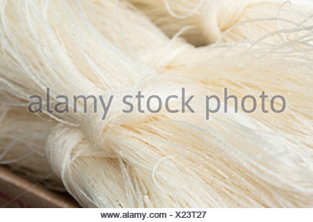 chinese rice noodles - Stock Photo