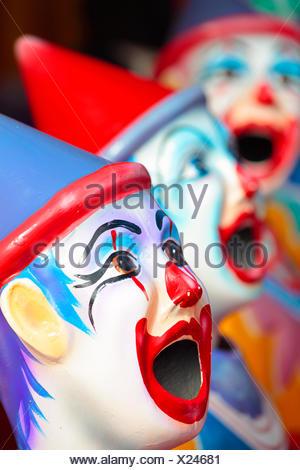 Carnival clowns - Stock Photo