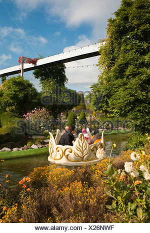 Phantasialand, amusement park ALT BERLIN, waltz area, Bruehl, Nordrhein-Westfalen, Germany, Europe - Stock Photo