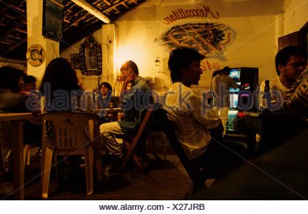 Mexico Nayarit Mexcaltitan Restaurant - Stock Photo