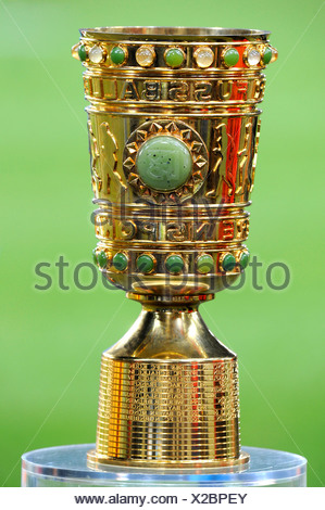 DFB-Pokal, German Football-Federation Cup, original trophy - Stock Photo