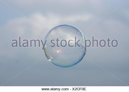 Bubble - iridescent beauty - Stock Photo