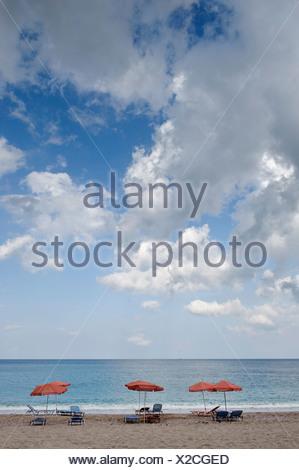 Apella Bay, island of Karpathos, Aegean Islands, Dodecanese, Aegean Sea, Greece, Europe - Stock Photo