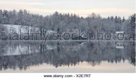 hibernation katzensee - Stock Photo