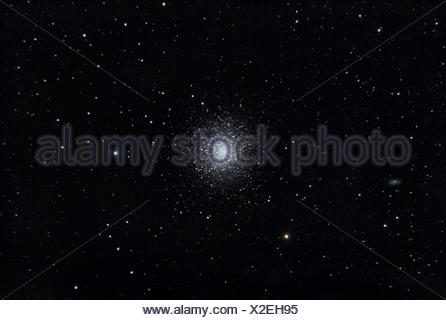 M13 Hercules Globular star cluster - Stock Photo