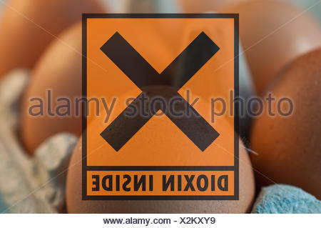 dioxin inside - Stock Photo