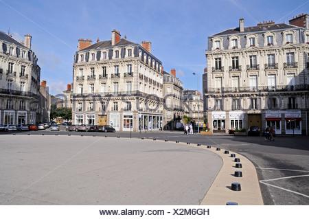 Saint Pierre Square, Nantes, Pays de la Loire, France, Europe - Stock Photo