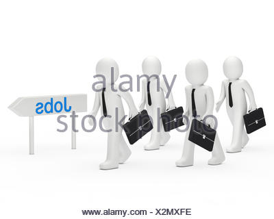 blue humans human beings - Stock Photo