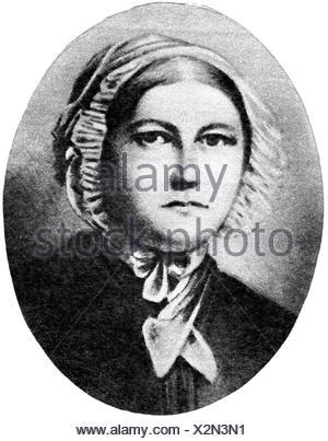 Eichendorff, Joseph von, 10.3.1788 - 26.11.1857, German author / writer, wife Louise, portrait, 19th century,  , Additional-Rights-Clearances-NA - Stock Photo