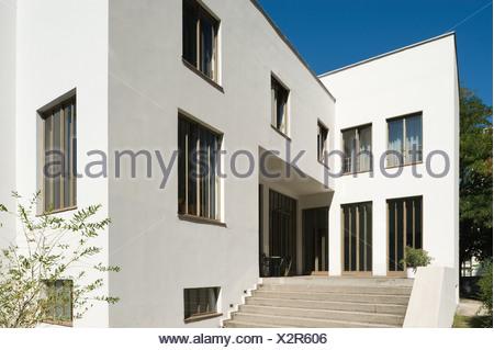 Wien, Wittgensteinhaus, Paul Engelmann und Ludwig Wittgenstein 1926-1928 - Stock Photo