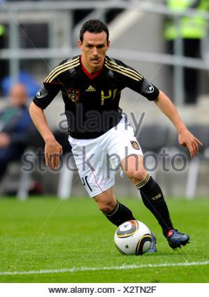 Piotr Trochowski, international football friendly match, Germany 3 Malta 0, Tivoli stadium, Aachen, North Rhine-Westphalia - Stock Photo