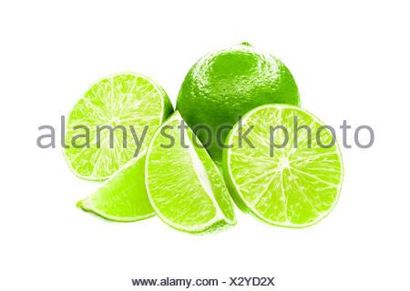 Fresh limes - Stock Photo