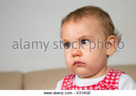 Baby ist traurig - Stock Photo