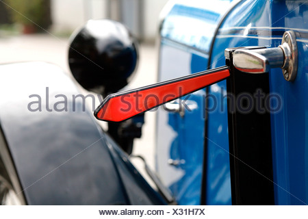 Indicator of a vintage car - Stock Photo