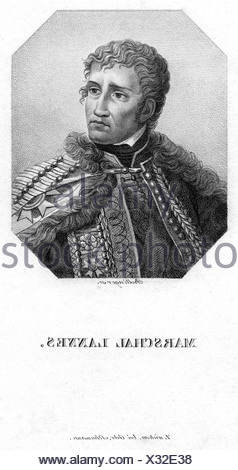 Lannes, Jean, 10.4.1769 - 31.5.1809, French general, portrait, engraving by Bollinger, 19th century, marshal of France, Napoleonic Wars, , Artist's Copyright has not to be cleared - Stock Photo