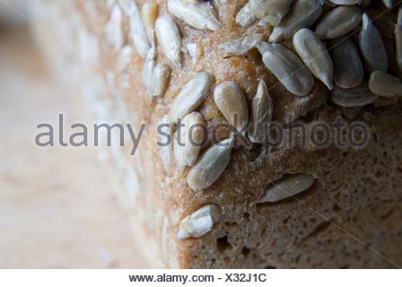 Fresh bread close-up. - Stock Photo
