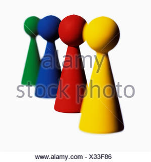 Things in a row. - Stock Photo