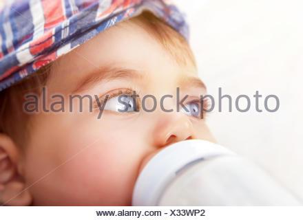 Cute little baby boy - Stock Photo