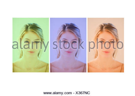 Chromotherapy, color therapy. - Stock Photo