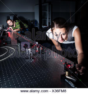 beam laser lasers - Stock Photo