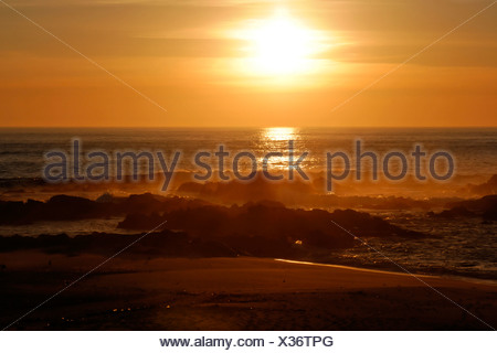 Sunset at Vila Cha, Porto, Northern Portugal, Portugal, Europe - Stock Photo