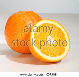Hamburg, Germany, oranges - Stock Photo