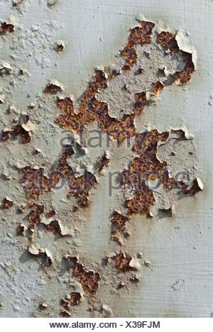 rusty sheet metal - Stock Photo