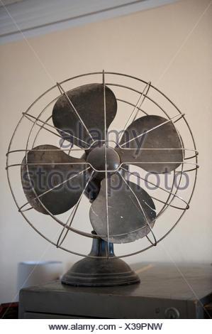 An antique fan. - Stock Photo