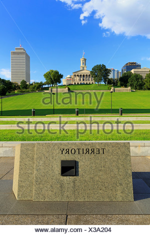 Bicentennial Capitol Mall State Park,Nashville,Tennessee,USA - Stock Photo