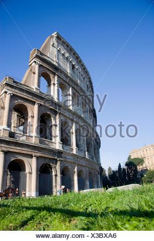 The Coliseum In Rome - Stock Photo