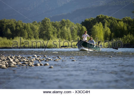 how to fly fish from a boat