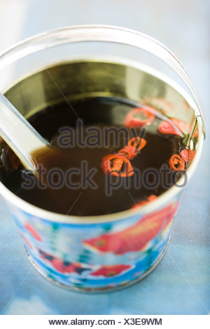 Spring roll sauce (nuoc cham) - Stock Photo