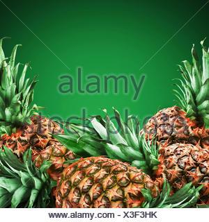 pineapples - Stock Photo