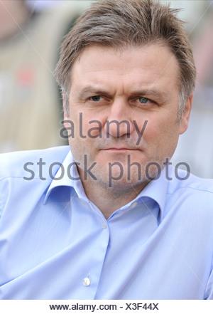 Dietmar Beiersdorfer, sports director of HSV, Hamburger SV - Stock Photo