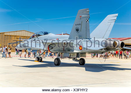 Aircraft McDonnell Douglas F/A-18 Hornet - Stock Photo