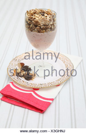 fruit cereal food - Stock Photo