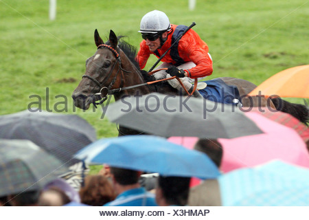 Iffezheim, Germany, Danedream with Andrasch Starke wins the Longines Grand Prix of Baden - Stock Photo