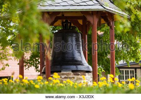 Kirchenglocke Straßberg Harz - Stock Photo