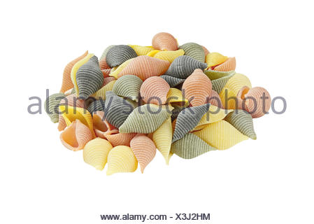 Colorful Pasta - Stock Photo