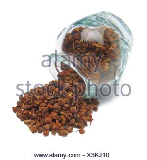 Szechuan pepper - Stock Photo