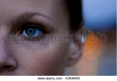 Close-up of a woman's eye - Stock Photo